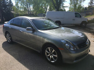2006 Infiniti G35x Luxury Premium Sedan AWD