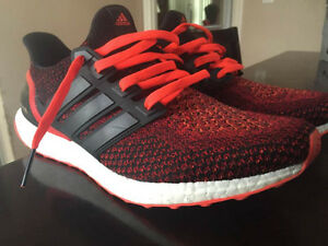 Adidas Ultra Boost Solar Red SIZE 11 (Worn But Great Condition)