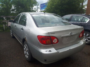 Corolla Low km $1400 standard (Manual)
