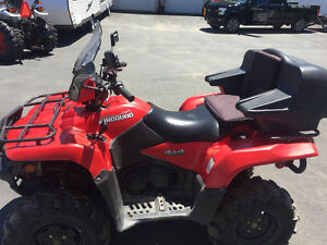 2012 SUZUKI 500 KINGQUAD AXI ( WE FINANCE )