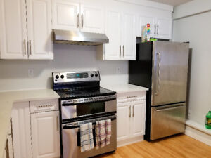 Langley – bright, renovated 3 bedroom suite for rent Feb 1