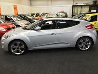 2012 HYUNDAI VELOSTER 1.6 GDi Sport DCT Auto From GBP11950+Retail package.
