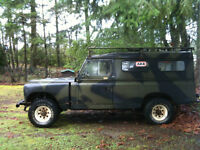 Diesel  Toyota Land Cruiser FJ45  with Landrover body ,4x4
