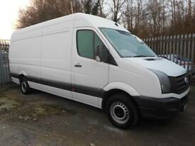 2013 VOLKSWAGEN CRAFTER CR35 2.0 TDI LWB HIGH ROOF PANEL VAN DIESEL