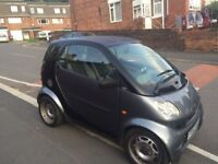 Smart car semi-auto 2003