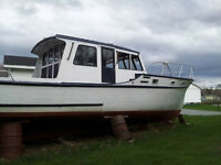 38 Foot Cabin Cruiser Sleeps 4