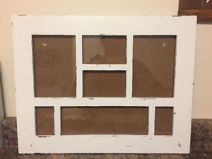 Multi photo picture frame