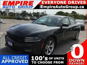 2016 DODGE CHARGER SXT * HEATED SEATS * BLUETOOTH