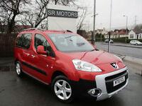 2011 Peugeot Partner 1.6HDi Tepee Outdoor(FULL HISTORY,WARRANTY)