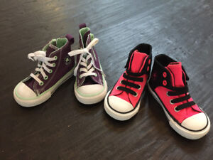 Toddler high-top  Converse sneakers