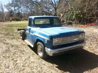 1974 international harvester/travelall project