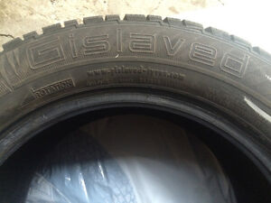 (4) Winter Tires good for Volvo S60/other - GISLAVED 225 55R 16 West Island Greater Montréal image 1
