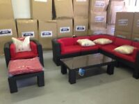 outdoor sectional rattan