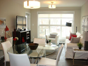 FURNISHED LUXURIOUS 2 Bed Condo off Whyte Ave – AVAILABLE NOW!!