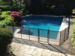 Pool Safety comp. - removable fence, winter covers, safety nets
