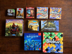 Board Games: excellent, used, and rescued :)
