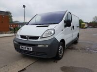 LOW RATE FINANCE AVAILABLE FULL MOT VAUXHALL VIVARO TRAFIC TRAFFIC PRIMASTAR RELIABLE!