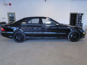 2003 MERCEDES S55 AMG! 98,000KMS! 493HP! MINT! ONLY $18,900!!!!