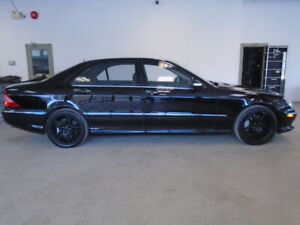 2003 MERCEDES S55 AMG! 98,000KMS! 493HP! MINT! ONLY $16,900!!!!