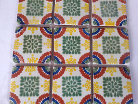 Traditional handpainted decor pattern wall tiles