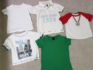 Boys short sleeve shirts size 2