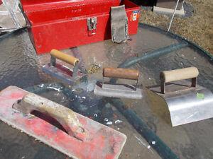 outils pour finition de ciment