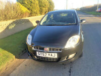 2008 57 Fiat Bravo 1.4 Active 90 Petrol Black 5 Door MOT April 2018.