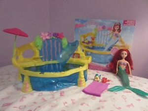 Ariel and swimming pool