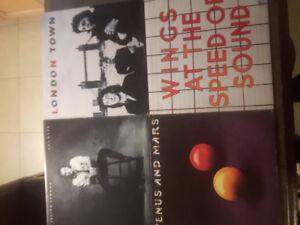 Paul McCartney and Julian lennon vinyls