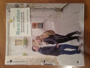 University French Textbook and Workbook