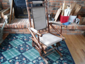 antique rocker/glider