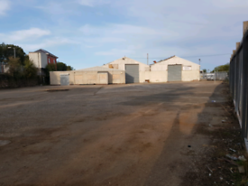 Industrial units and yard