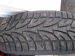 245/65/R17 Winter tires 400 OBO Cornwall Ontario image 1