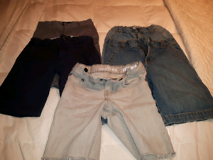 Lot of 5 pairs of boy shorts size6