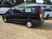 MERCEDES VITO 111 CDI LONG TRAVELINER 9 seater sat nav, Black, Manual, Diesel, 2