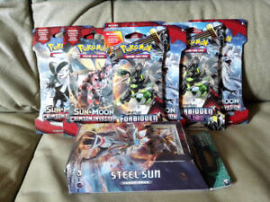 Selling brand new pokemon cards/toys (in package, never opened)