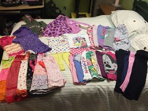 Girls large lot 3T clothes