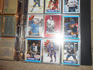 A binder of old hockey cards or sports cards London Ontario image 4