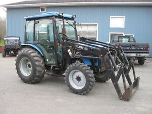 2007 Landini 5940C 59hp Cab Tractor with Loader