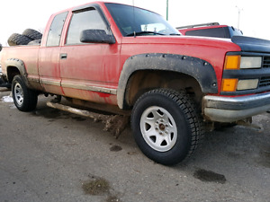 BRAND NEW GM TIRES AND RIMS