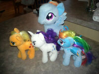 My Little Ponies-stuffed toys
