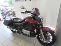 HONDA F6C (GL1800C-E), 65 REG ONLY 4260 MILES, LEATHER PANNIERS, SCREEN...