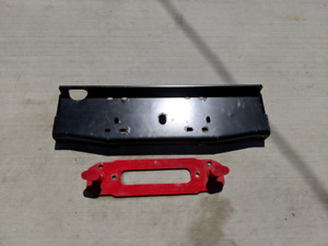 Maximus3 Jeep Wrangler JK Winch Plate and Upgraded Hook Anchor.