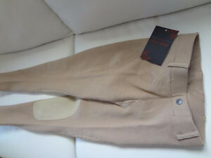 Red Label Riding Breech, youth, SIZE 12, brand-new with labels