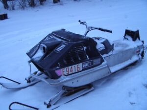 1972 ARCTIC CAT LYNX ; GOOD CONDITION; NO MOTOR