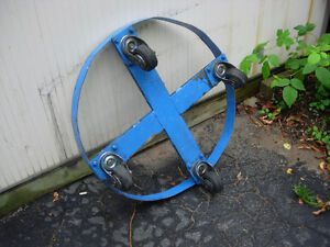 45 gallon drum roller