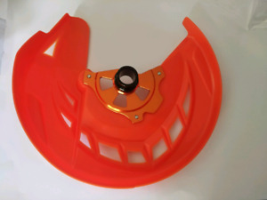 KTM 2016 up front disk guard with mount brand new