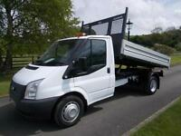 FORD TRANSIT 350 100PS TIPPER 14 REG ONLY 25,000 MILES SIX SPEED