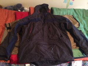 XL Eddie Bauer shell ski jacket!!