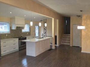 All Renovated 3 Bedroom Detached House (close to airport)